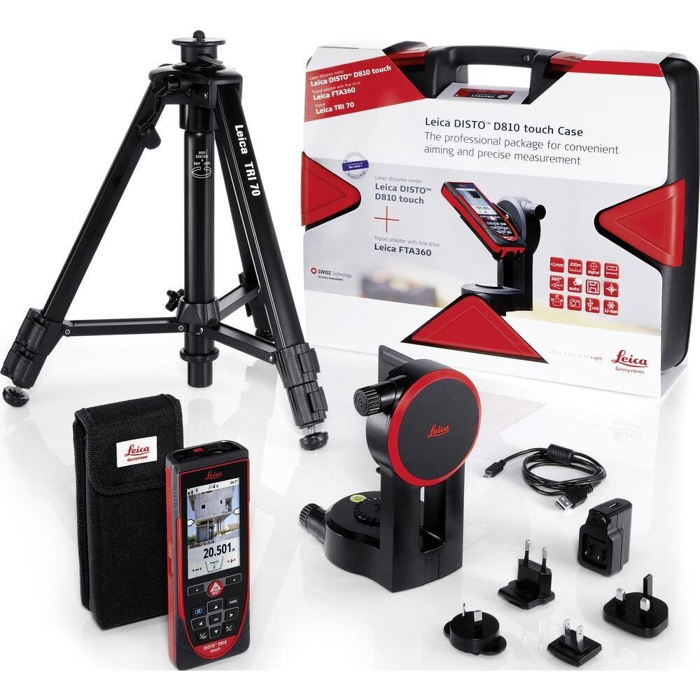 Leica Geosystems Disto D810 touch